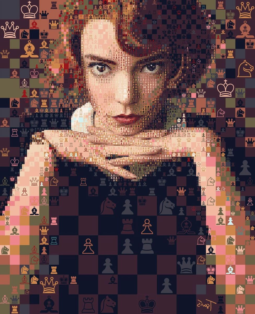2 portrait photo naipulation queens gambit by charis tsevis e1619965987778