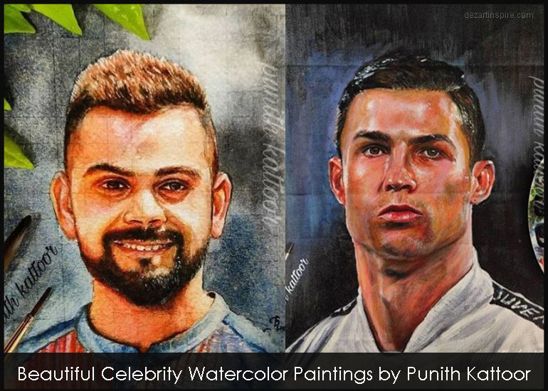 f watercolor painting punith