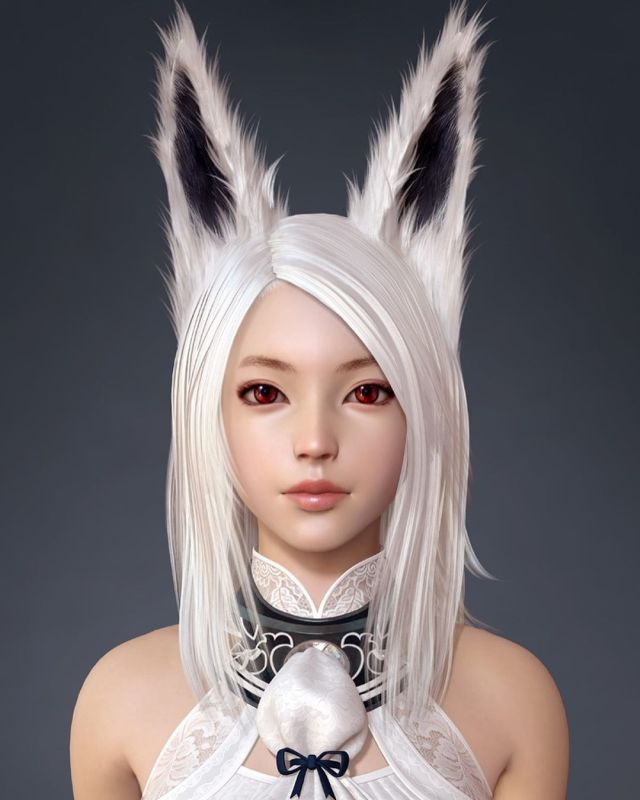 Zbrush Game Character Design Archlord Moonelf by Shin Jeongho