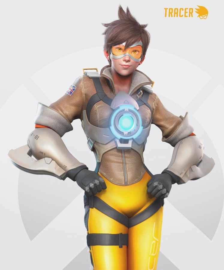 3d Game Character Design Tracer by Sasawat Intakul